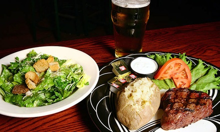 Italian and American Food or Dinner and Drinks for Four at Jimmy's Pub (Up to 49% Off)