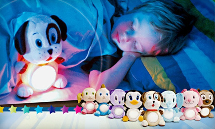 15 For A Stuffed Animal With Led Night Light Groupon