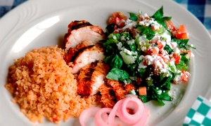 Two Groupons, Each Good For $25 Worth Of Authentic Mexican Food At Itacate (44% Off)
