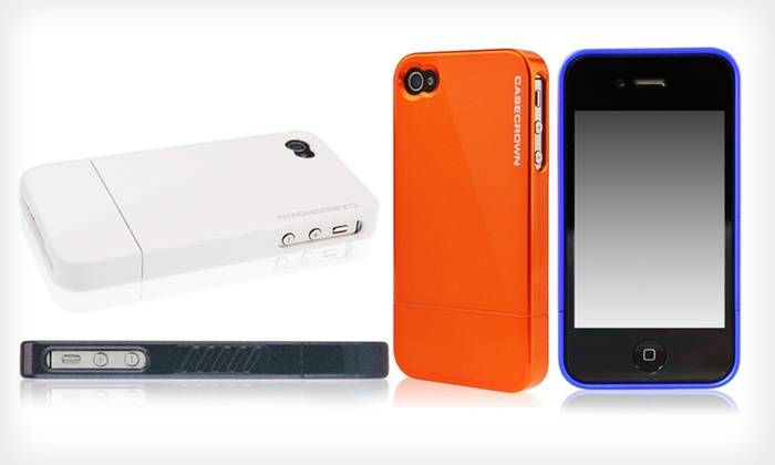 CaseCrown Glider Case for iPhone 4/4S: CaseCrown Glider Case for iPhone 4/4S (Up to 77% Off). Multiple Styles and Colors Available. Free Returns.