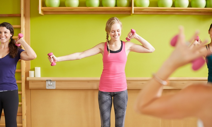 Body Sculpting (TM) - Multiple Locations: Eight Body Sculpting cardiovascular strength-training classes (Up to 64%Value)