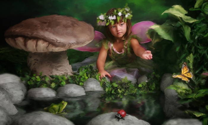 Paul Maynard Photography - KCR Plains: $75 for Fairy Photo Session with Wardrobe, Props, Prints, and Digital Images at Paul Maynard Photography ($300 Value)
