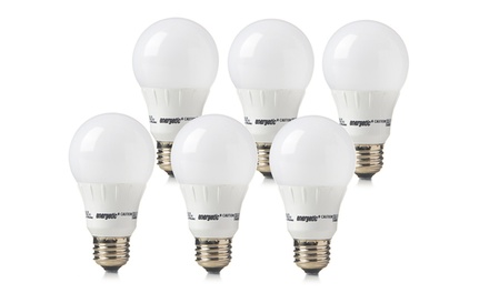 6-Pack of Energetic Lighting 8.2-Watt or 6-Watt LED Bulbs from $29.99-$39.99