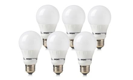 6-Pack of Energetic Lighting 8.2-Watt or 6-Watt LED Bulbs from $29.99-$39.99
