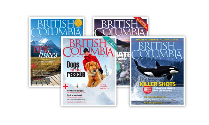 "British Columbia Magazine - British Columbia Magazine: One- or Two-Year Subscription to ""British Columbia Magazine"" (Up to 55% Off)"