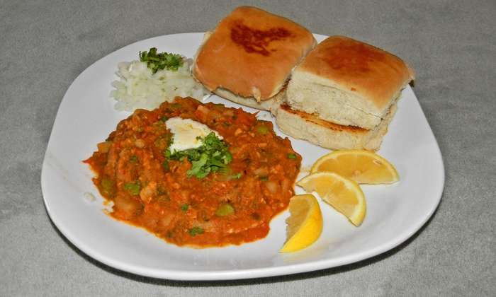Bombay Food Junkies - St Louis: Indian Street Food at Bombay Food Junkies (Half Off). Two Options Available.