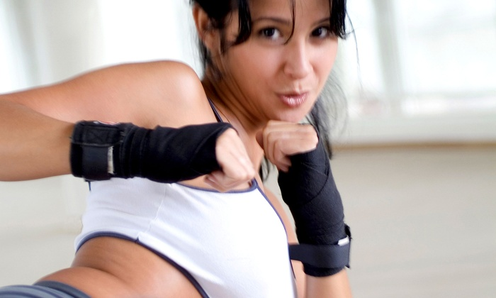 Southampton Martial Arts - Upper Southampton: 5 or 10 Cardio-Kickboxing or Karate Classes and One Pair of Boxing Gloves at Southampton Martial Arts (Up to 77% Off)