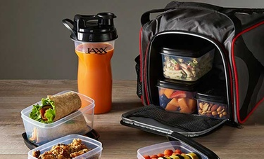 Jaxx FitPak Meal Prep Set