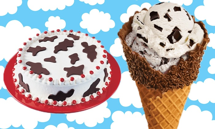 Ben & Jerry's - Multiple Locations: Ice Cream or Ice-Cream Cake at Ben & Jerry's (Up to 50% Off). Three Options Available.