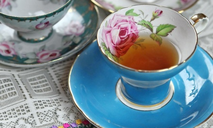 $37 for a Tea Party for Two at Cauley Square Tea Room ($75.98 Value)