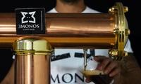 Tour guiado para 2, 4 o 6 personas con cata y botella de cerveza artesanal desde 12,95 € en 3Monos Craft Beer