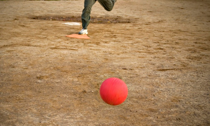 Baltimore City Kickball - Swann Park: Kickball League Registration for One or a Team of 15 from Baltimore City Kickball (Up to 51% Off)