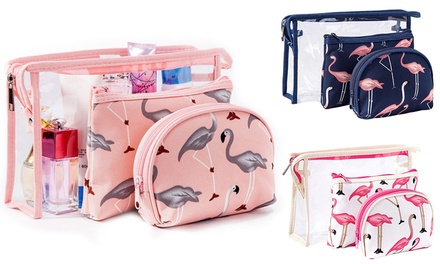 Cosmetics and Toiletry Bag Set