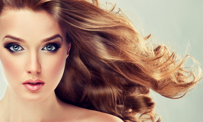 Coupe coloration brushing sawana 39 s sprl salon de coiffure et esth tique groupon - Shampoing coupe brushing ...