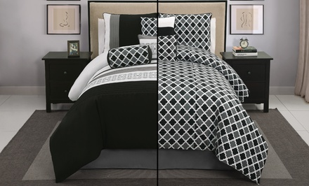 7-Piece Reversible Comforter Set. Multiple Sizes from $54.99–$59.99. Free Returns.