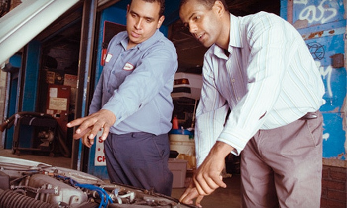 Signature Tire - Glendora: $35 for Three Oil Changes with Tire Rotations and 24-Point Inspections at Signature Tire in Glendora ($194.85 Value)