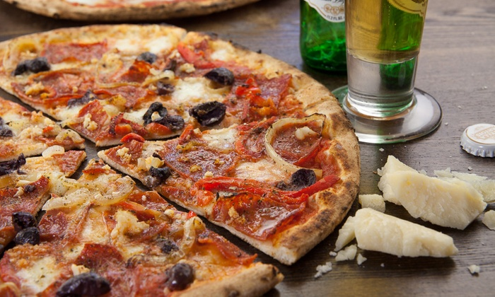 Gelato Spot Pizzeria - Old Town Scottsdale: $16 for a Wood-Fired Pizza with One 24-Ounce Sangria or Two 12-Ounce Craft Beers (Up to $30 Value)