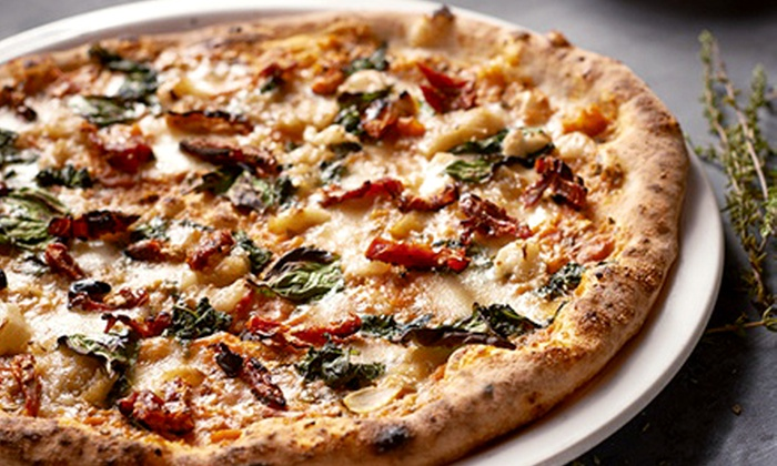 Famoso Neapolitan Pizzeria - Multiple Locations: $25 for One Appetizer, One Regular Pizza, and One Seasonal Pizza at Famoso Neapolitan Pizzeria (Up to $41.50 Value)