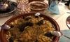 Marokkanisches Menü à la carte