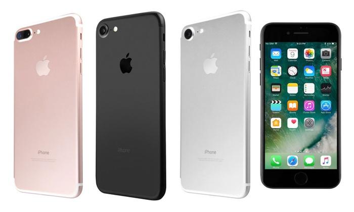 Apple Iphone 7 Or 7 Plus Verizon And Gsm Unlocked Refurb B Grade Groupon