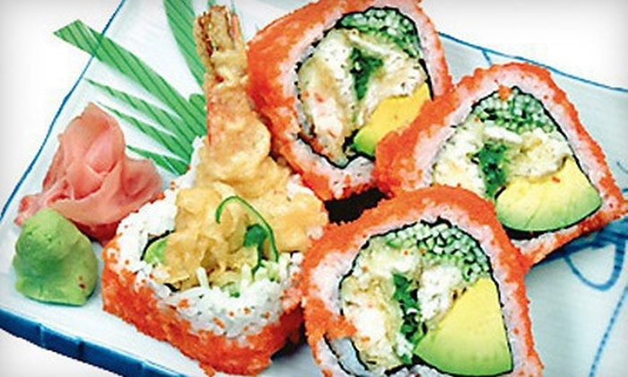 Ginza Japanese Restaurant - Wauwatosa: $15 for $30 Worth of Sushi and Asian Cuisine at Ginza Japanese Restaurant