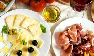 Gusto L'enogastronomia Gourmet: Degustazione con 3 calici di vino, prodotti tipici campani e primo del giorno al Gusto L'enogastronomia Gourmet