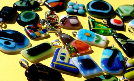 Glass Jewelry Making at Clay 'N Latte (Up to 57% Off). Three Options Available.