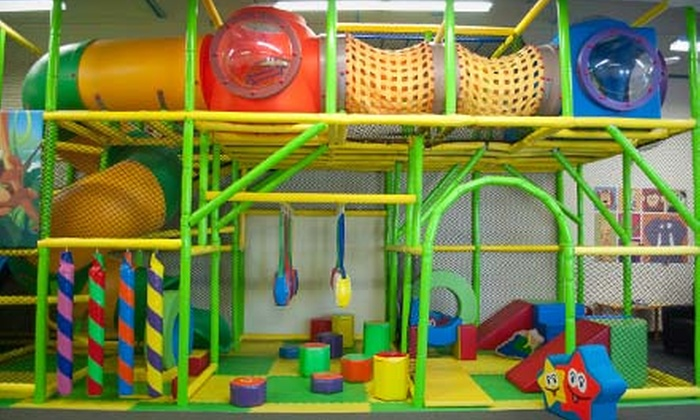 Panda Party - Aurora: 5 or 10 Kids' Open-Play Sessions at Panda Party  (Up to 56% Off)