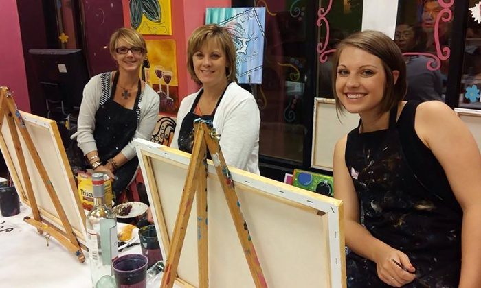 Masterpiece Mixers- Johnson City - Johnson City: Two-Hour BYOB Painting Class for One or Two at Masterpiece Mixers Paint & Party Studio (Up to 36% Off)