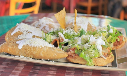 Mexican Meal with Appetizers, Tacos, and Margaritas for Two or Four at El Comal (Up to 50% Off)