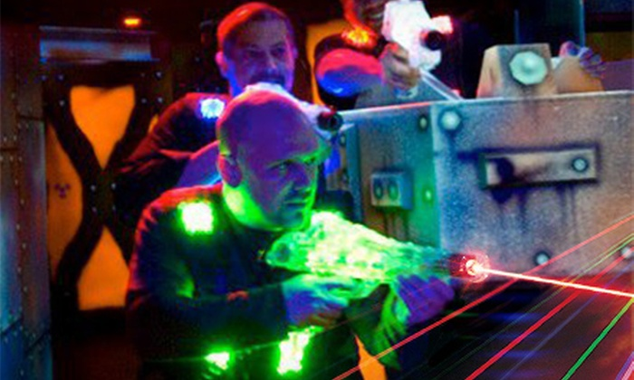 Ultrazone Laser Tag in Baltimore - Dundalk: $10 for Three Rounds of Laser Tag at Ultrazone Laser Tag in Baltimore ($19.99 Value)