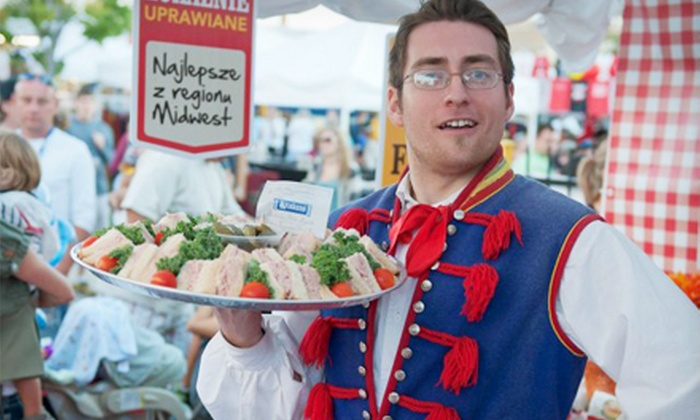 Taste of Polonia at the Copernicus Center - Far North Side: One-Day Admission for Two or Four to Taste of Polonia at the Copernicus Center August 30–September 2 (Half Off)