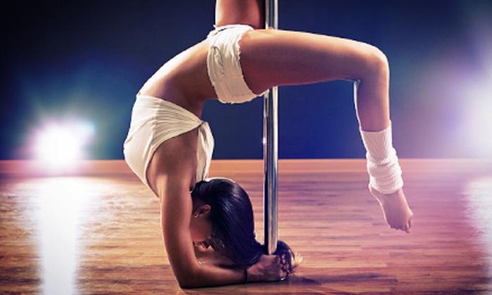 The Secret Pole Dance Studio - The Secret Pole Dance Studio: Two or Eight Women's Pole-Dance or Fitness Classes at The Secret Pole Dance Studio (Up to 76% Off)