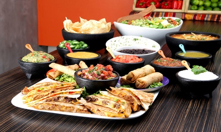 $12 for $20 Worth of Mexican Food and Drinks at Salsa Fiesta