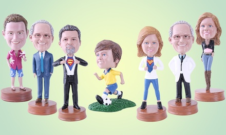 Personalised Bobbleheads: Single ($49), Couple ($99) or Family of Three ($149) (Don't Pay up to $519.67)