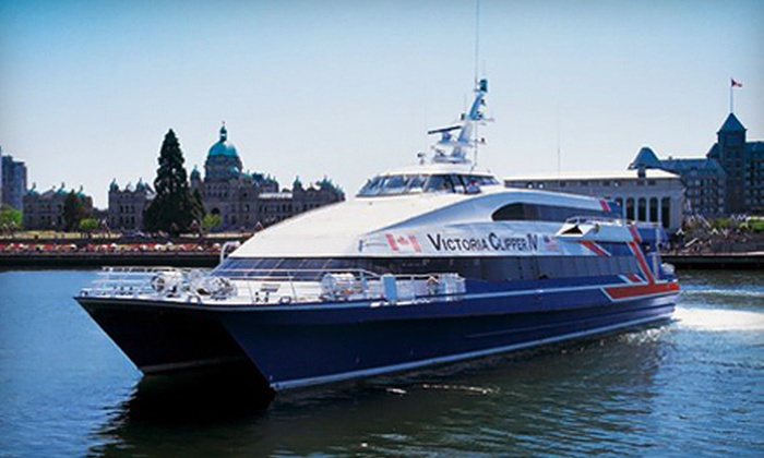 Clipper Vacations - Belltown: $74 for a Round-Trip Boat Ride from Downtown Seattle to Victoria from Clipper Vacations (Up to $151 Value)