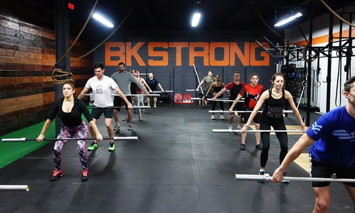 CrossFit Outbreak - Clinton Hill: $89for One-Month Unlimited Membership at CrossFit Outbreak (55%Value)