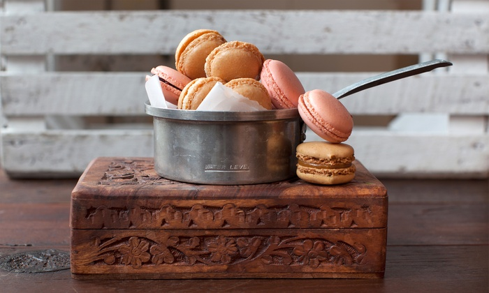 XT Patisserie - La Habra City: 12-Macaron Gift Box or Three Groupons, Each Good for $10 Worth of Macarons at XT Patisserie (Up to 50% Off)