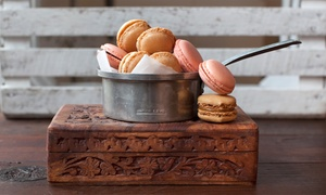 Marley's Treats: Macarons, Cupcakes, and Baked Goods at Marley's Treats (Up to 40% Off). Three Options Available.