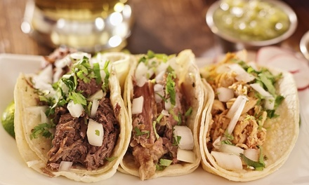 Mexican Cuisine at Barrio Taco & Tequila Bar (Up to 40% Off). Two Options Available.