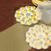 Deviled-Egg Tray Set with Snap-On Lids