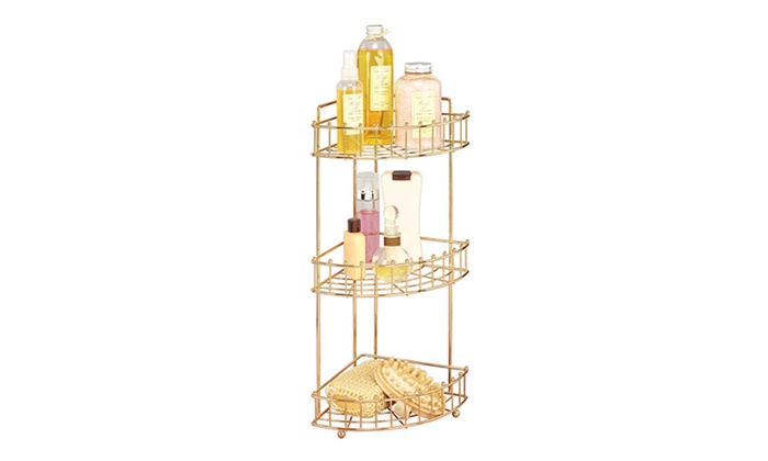 Laura Ashley 3-Tier Shower Caddy | Groupon Goods