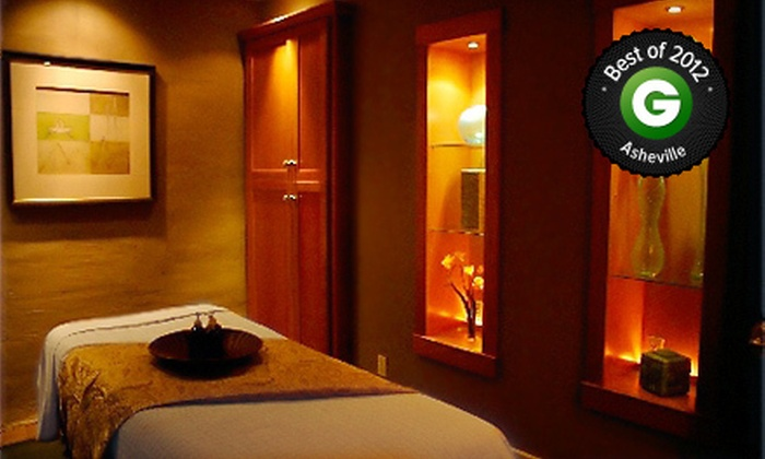 Spa Theology - Downtown Asheville: $86 for Package with Body Wrap, Reflexology, Scalp Treatment, Massage, and Body Sealant at Spa Theology ($179 Value)