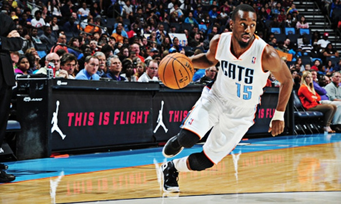 Charlotte Bobcats - Time Warner Cable Arena: Charlotte Bobcats Game at Time Warner Cable Arena on January 15, 21, or 23 (Up to 80% Off). Nine Options Available.
