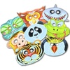 8-Book and Mask Animal Party Pack
