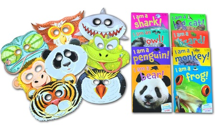 Animal Party Pack Children's 8-Book Set