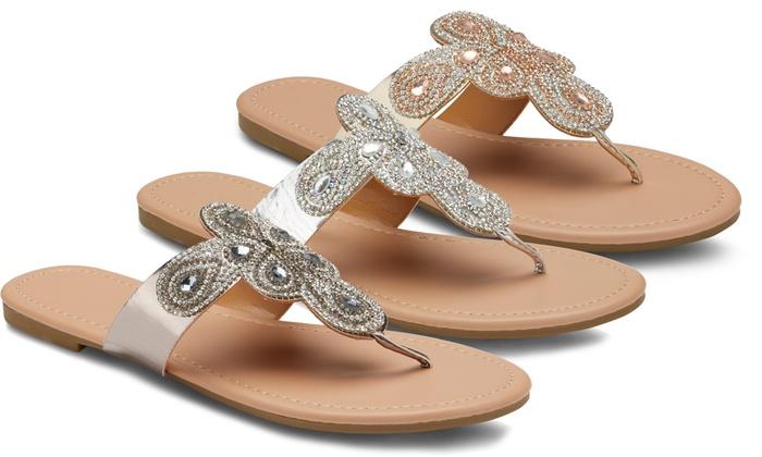 Office Embellished Sandals