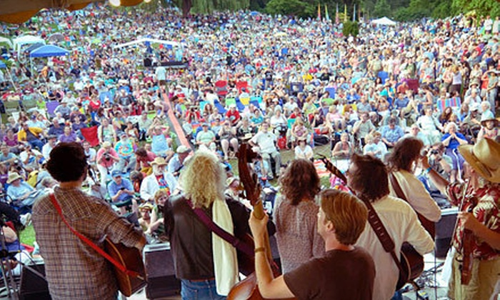 Clearwater Music Festival - Crotonville: One or Two Days at Clearwater Music Festival in Croton Point Park in Croton-on-Hudson on June 16–17 (Up to 51% Off)