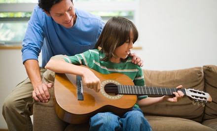 Four or Eight Private 30-Minute Music Lessons at Kelowna Rock School (51%Off)