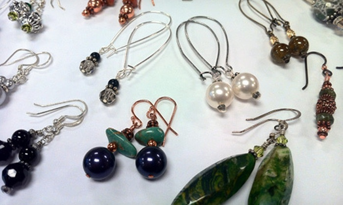 The Bead Place - Fairview Heights: Build-Your-Own-Earrings Class for One or Two at The Bead Place (62% Off)